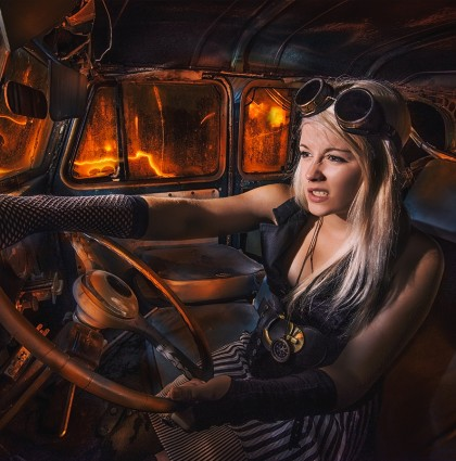 Steampunk Cars & Fashion
